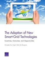 تبنّي تقنيات الشبكة الذكية الجديدة - الحوافز والنتائج والفرص