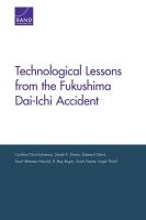 دروس تقنية مستفادة من حادثة فوكوشيما دايتشي