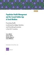 تدبير صحة السكان  والعصر الذهبي الثاني للطب العربي