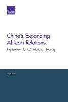 توسع العلاقات الصينية الإفريقية: التداعيات على الأمن القومي الأمريكي
